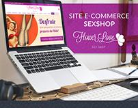 SITE E-COMMERCE SEXSHOP FLOWER LOVE