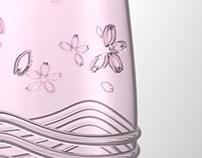 SAKURA seasonal bottle
