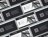 Business card for Drywall mechanic (plasterboard)