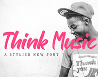FREE Think Music Font
