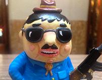 Narquito sofubi toy