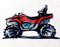 ATV design sketch