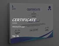 Certificate vol - 01