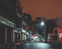 At Night - Taichung, Taiwan