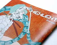 "Illustration Zine ""HIGHLIGHT"" Diversion"