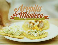 Arepita de Manteca. GAstronomia Venezolana en Buenos Ai
