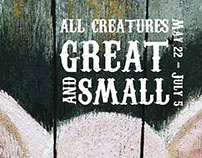 All Creatures Great and Small Poster and Postcard