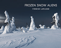 Frozen Snow Aliens // Finnish Lapland