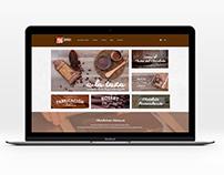 Chocolates Comes - Diseño Web