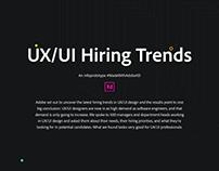 UX/UI Hiring Trends