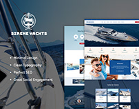 Sirene | Yacht Charter Services & Boat Rental WP Theme