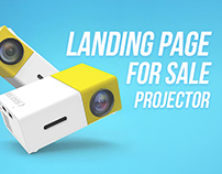 Landing Page for projector