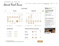 UI Design of Booking widget