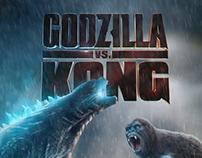 GODZILLA vs KONG | Concept Poster Design