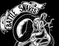 Battle snakes bike project