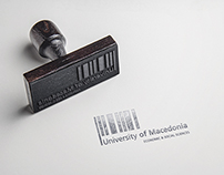 University of Macedonia Rebranding