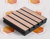 Foam Acoustic Panel 3D Model