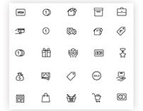 25 Ecommerce Icons