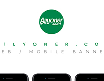 Bilyoner.com Banner Design