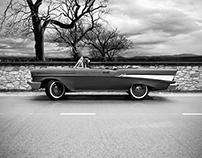 57'Chevy convertible cgi