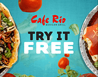Cafe Rio Motion Graphics - Kinetic Typography