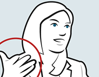 What to do with your hands during a job interview