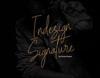 Indesign Signature Script Font - Free Script Font