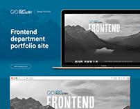 Frontend page portfolio