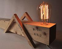 Grasshopper lamp