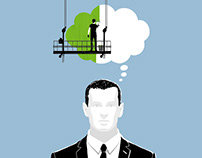 »Think Green« Illustrations for Vaillant