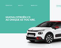 Nuova Citroën C3 Hub