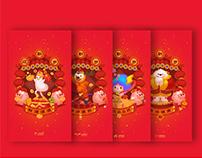 MOJI FAMILY 新年海报