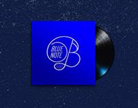 Branding: Blue Note Jazz Identity (Proposal)