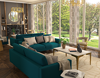 Lodha Group 3D Interior Visualisation