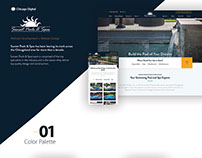 Sunset Pools- Website Design