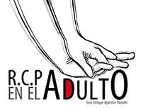 """Front page """"RCP en el adulto"""" for CSIF"""