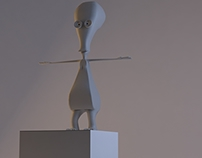 Character 3D Modelling