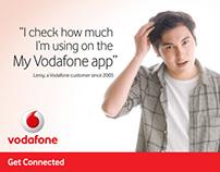 Vodafone / Instore panels