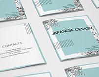 "PROJET SCOLAIRE : Brochure ""Japanese design"""