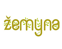 "Organic food shop ""Žemyna"" logo"