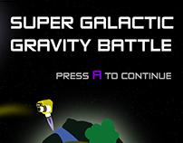 Super Galactic Gravity Battle - Videogame art