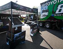 NASCAR LeafFilter Event Tent 2015