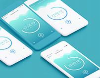 Countdown Timer App UI