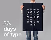 26 Days of Type 2021