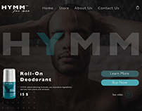 HYMM Roll-on deodorant for men