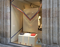 Escaparate Le Coq Sportif Flagship - Tricolor