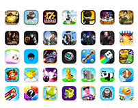 Characters / Icons for mobile games