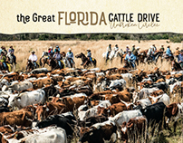 Logo design for the Great Florida Cattle Drive