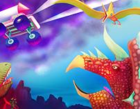 Dinomash Promotional Poster 2