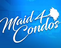 Maid4Condos * Brand + Web